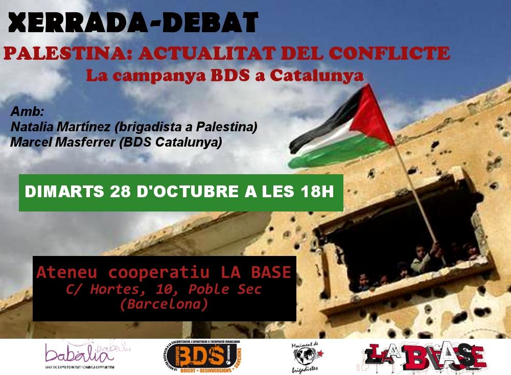 cartell palestina babalia