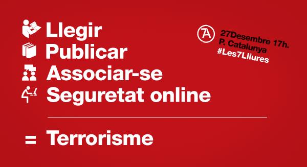 Llegir, puclicar, associar-se, seguretat online = Terrorisme