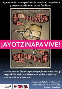 Ayotzinapa la base