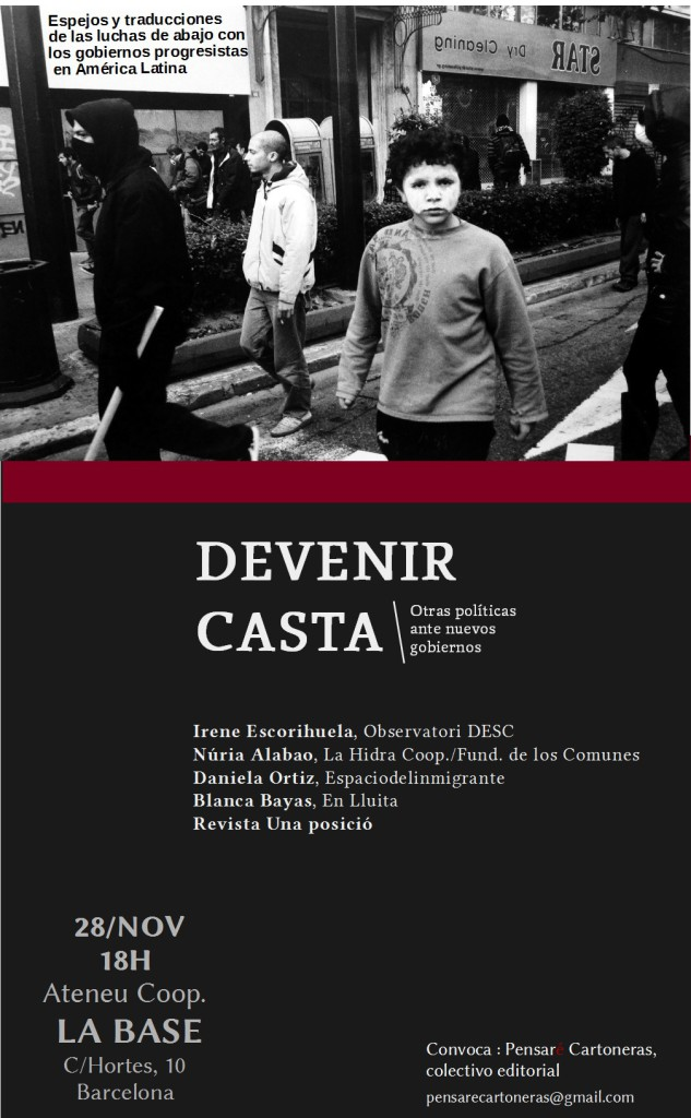 cartel La base 28 Nov DEV CASTA OK