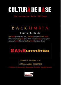 cartel balkumbia 9 de noviembre