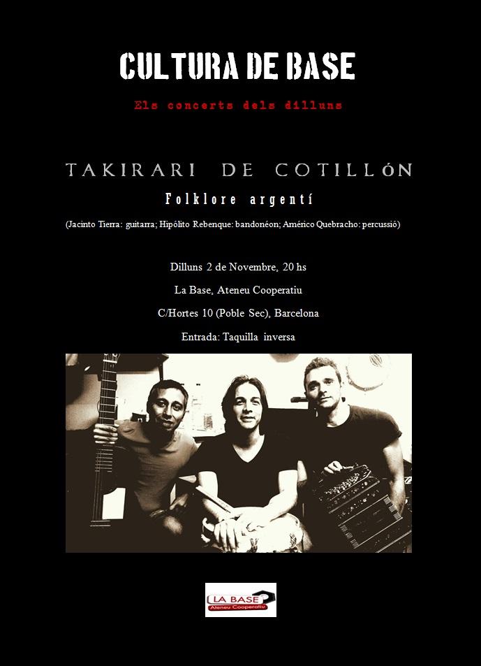 concierto 2 de noviembre 2