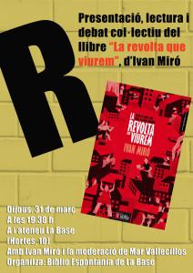 Cartell Ivan Miro La Base