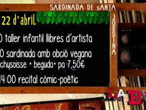 cartell sardinada